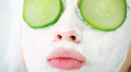 Cucumber Mask Wallpaper For PC