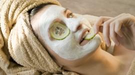 Cucumber Mask Wallpaper Full HD