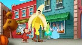 Curious George Wallpaper For PC