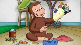 Curious George Wallpaper Full HD