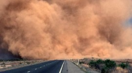 Dust Storm Desktop Wallpaper For PC