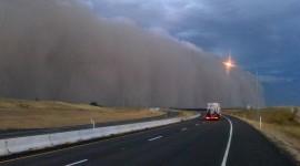 Dust Storm Desktop Wallpaper#1