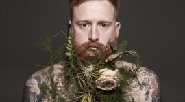 Flowers In The Beard Wallpaper Free