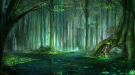 Forest Fairy Wallpaper Free