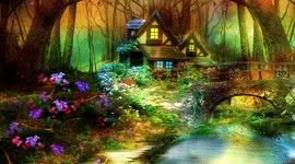 Forest Fairy Wallpaper High Definition