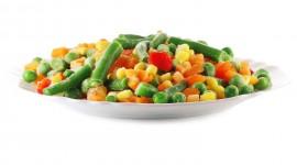 Frozen Vegetables Desktop Wallpaper