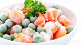 Frozen Vegetables Desktop Wallpaper For PC