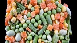 Frozen Vegetables Desktop Wallpaper HD