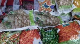 Frozen Vegetables Wallpaper