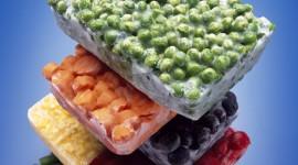 Frozen Vegetables Wallpaper Background