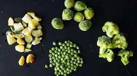 Frozen Vegetables Wallpaper Download