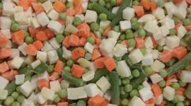 Frozen Vegetables Wallpaper For IPhone
