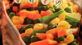Frozen Vegetables Wallpaper For IPhone Free