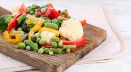 Frozen Vegetables Wallpaper For PC