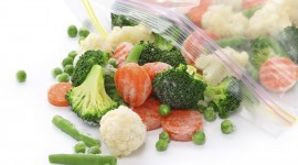 Frozen Vegetables Wallpaper HQ