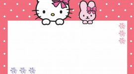 Hello Kitty Photo Frame Picture Download