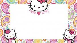 Hello Kitty Photo Frame Wallpaper