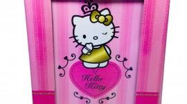 Hello Kitty Photo Frame Wallpaper For Mobile#1