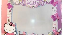 Hello Kitty Photo Frame Wallpaper Free