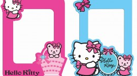 Hello Kitty Photo Frame Wallpaper Gallery