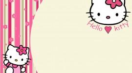Hello Kitty Photo Frame Wallpaper HQ