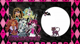 Monster High Frame Best Wallpaper