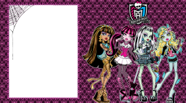 Monster High Frame Wallpaper HQ