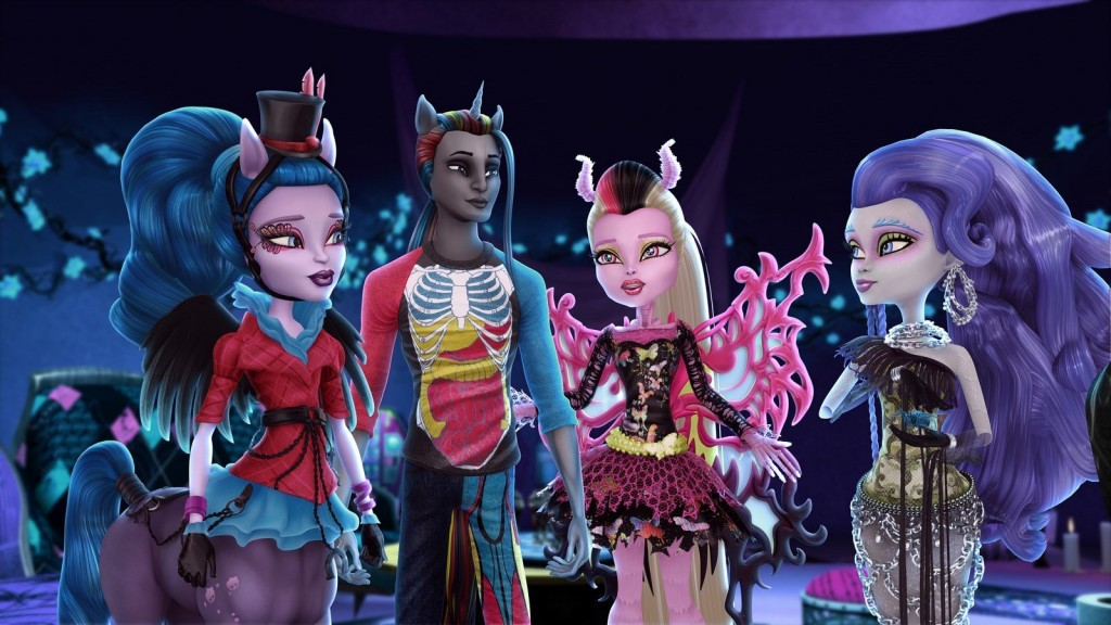 Monster High Freaky Fusion wallpapers HD
