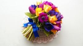 Multi Colored Bouquets Desktop Wallpaper