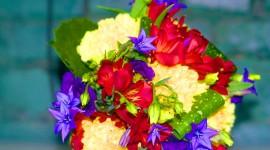 Multi Colored Bouquets Wallpaper