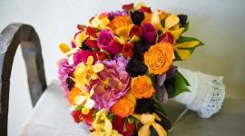 Multi Colored Bouquets Wallpaper For PC