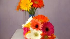 Multi Colored Bouquets Wallpaper#1