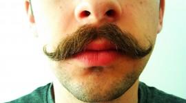 Mustache Wallpaper Background