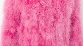 Pink Fur Wallpaper Full HD