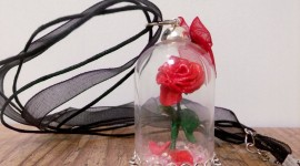 Rose In A Glass Wallpaper For Android
