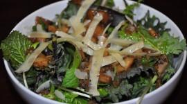 Salad With Mushrooms Photo