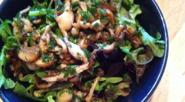 Salad With Mushrooms Photo#2