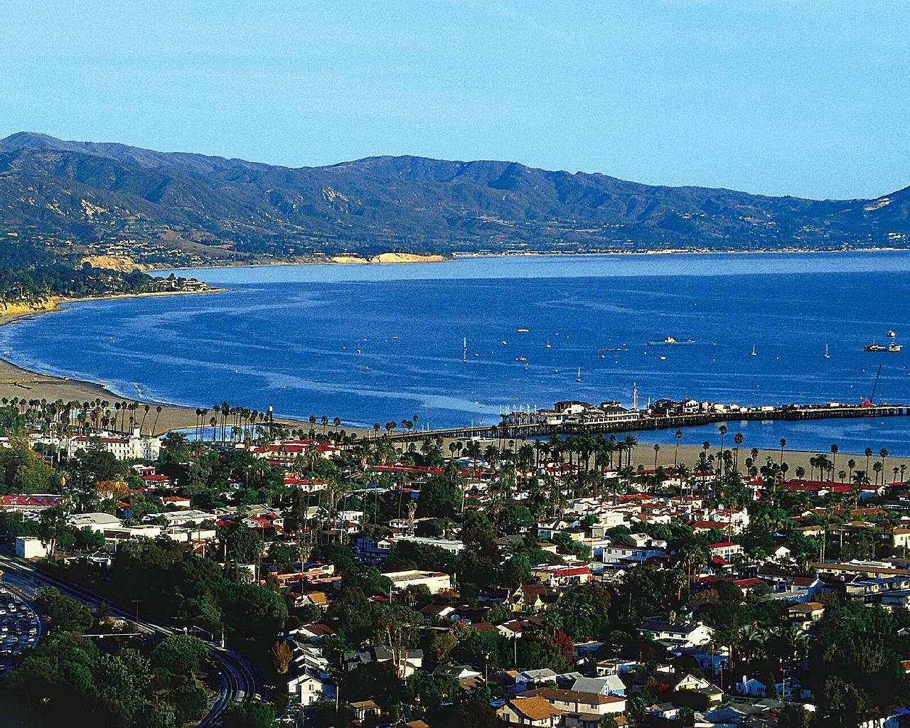 Santa Barbara Wallpaper HD