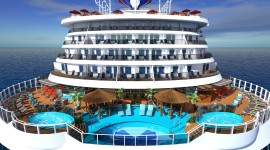 Sea ​​Cruise Desktop Wallpaper Free