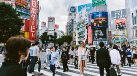 Shibuya Desktop Wallpaper