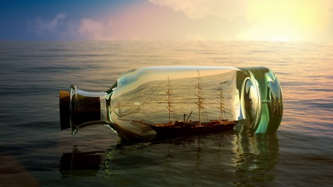 Ship In A Bottle wallpapers high quality