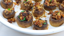 Stuffed Mushrooms Photo