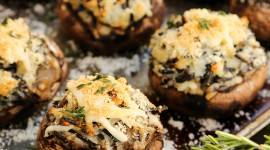 Stuffed Mushrooms Wallpaper For Mobile