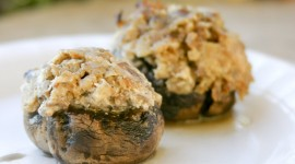 Stuffed Mushrooms Wallpaper Free