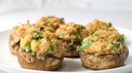Stuffed Mushrooms Wallpaper Full HD