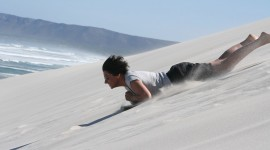 Surfing The Sand Wallpaper For Desktop