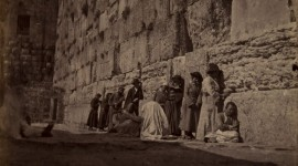 The Weeping Wall In Israel Wallpaper