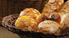 4K Basket With Bread Photo