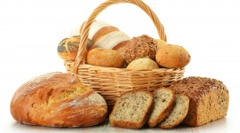 4K Basket With Bread Photo#1