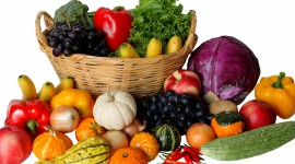 4K Basket With Vegetables Wallpaper Gallery